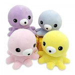 SOFT STUFFED PLUSH OCTOPUS TOY BABY KIDS PLAYTHING (PINK) 0
