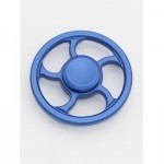 WHEEL FINGERTIP SPINNING TOP FINGER GYRO FOCUS TOY STRESS RELIEVER (BLUE) -