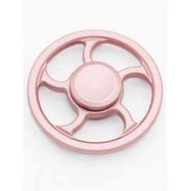 image of WHEEL FINGERTIP SPINNING TOP FINGER GYRO FOCUS TOY STRESS RELIEVER (PINK) -