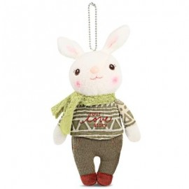 image of METOO STUFFED CUTE CLASSICAL RABBIT PLUSH DOLL TOY FOR KIDS (PEA GREEN) -