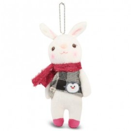 image of METOO STUFFED CUTE CLASSICAL RABBIT PLUSH DOLL TOY FOR KIDS (WHITE) -