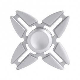 image of FOUR-BLADE ALLOY FINGER SPINNER PRESSURE REDUCING TOY (COLORMIX) -