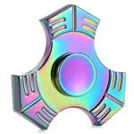 METAL EDC FINGER GYRO FIDGET HAND SPINNER TOY (COLOURFUL) -