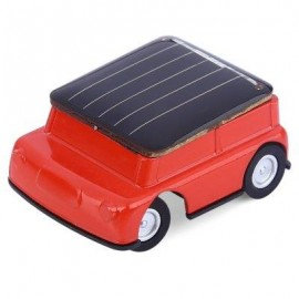 image of MINI SOLAR POWER CAR ENERGY-SAVING PUZZLING TOY (RED) -