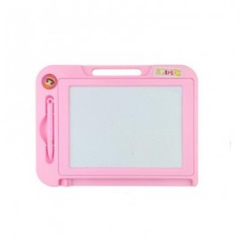 image of CHILDREN MAGNETIC DRAWING BOARD DOODLE TOYS (PINK) 0