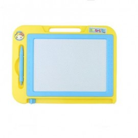 image of CHILDREN MAGNETIC DRAWING BOARD DOODLE TOYS (YELLOW) 0