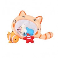 image of FISH BATH SMALL ANIMAL SQUEEZED WATER TOYS (BUTTERCUP) 0