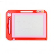 image of CHILDREN MAGNETIC DRAWING BOARD DOODLE TOYS (RED) 0