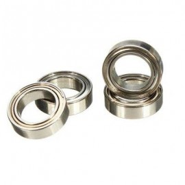 image of 4 SPARE BALL BEARING 7 X 11 X 13MM FOR WLTOYS A949 A959 A969 A979 RC RALLY CAR (SILVER WHITE) -
