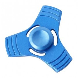 image of THREE-BLADE FINGER SPINNER PRESSURE REDUCING TOY (BLUE) -