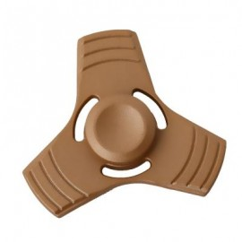 image of THREE-BLADE FINGER SPINNER PRESSURE REDUCING TOY (GOLDEN) -