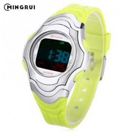 image of MINGRUI 8518 KIDS DIGITAL MOVT WATCH LED LIGHT DATE DAY CHRONOGRAPH DISPLAY 3ATM WRISTWATCH (GREEN) 0