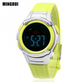 image of MINGRUI 8523 KIDS DIGITAL MOVT WATCH LED LIGHT DATE DAY CHRONOGRAPH DISPLAY 3ATM WRISTWATCH (GREEN) 0