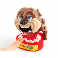 image of BOARD GAME CAREFULLY STEAL TRICK BITE FINGER DOG PARENT-CHILD INTERACTION (RED) 0