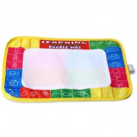 image of CP1366 29 X 19CM DOODLE DRAWING MAT + MAGIC PEN CHILDREN EDUCATIONAL TOY (COLORMIX) One Size