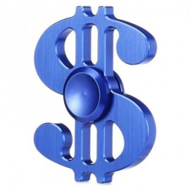 image of DOLLAR STYLE ALUMINUM ALLOY ADHD FIDGET HAND SPINNER (BLUE) -