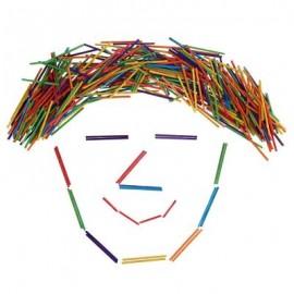 image of 260PCS KIDS COLORFUL DIY WOOD CRAFT STICKS COUNT MATCHSTICKS (COLOURMIX) 16.00 x 13.00 x 4.00 cm