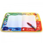 MAGIC WATER DRAWING WRITING MAT TOY WITH WATERCOLOR PEN FOR KIDS (COLORMIX) -