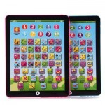 KIDS CHILDREN ENGLISH LEARNING PAD TOY EDUCATIONAL COMPUTER TABLET (PINK) -