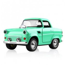 image of 1:38 ALLOY CAR PULL BACK DIECAST MODEL TOY SOUND LIGHT COLLECTION BRINQUEDOS CAR VEHICLE TOYS FOR BOYS CHILDREN (GREEN) 1PC