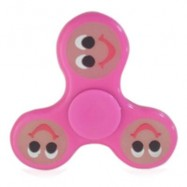image of PATRIOTIC HEART STRESS RELIEVER FOCUS TOY FIDGET SPINNER (BRIGHT PINK) -