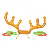 image of INFLATABLE ANTLER RING THROWING TOY COLORFUL SPORTS GAME One Size
