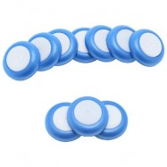 image of 10PCS SOFT DISC BULLET REFILL BLASTER TOY GUN DART (ROYAL BLUE) One Size