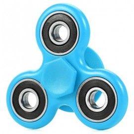 image of FIDGET SPINNER STRESS RELIEVER PRESSURE REDUCING TOY (BLUE) -