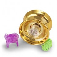 image of THE NEW PHANTOM ALLOY YO-YO MAGIC FASHION HOT SELLING TOYS (GOLDEN) 0