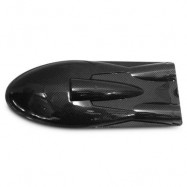 image of ORIGINAL FEILUN FT011 REMOTE CONTROL BOAT FITTINGS COVER VESSEL COMPONENT (BLACK) -