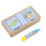 image of CHILDREN ENGLISH LEARNING CARD MAGIC WATER DRAWING BOARD (MULTI) CP1396