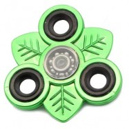 image of LEAVES EDC TOY FINGER GYRO STRESS RELIEF FIDGET SPINNER -