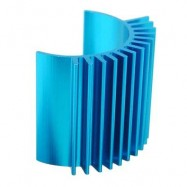 image of SPARE MOTOR HEAT SINK FITTING FOR WLTOYS A949 A959 A969 A979 RC CAR (LAKE BLUE) -