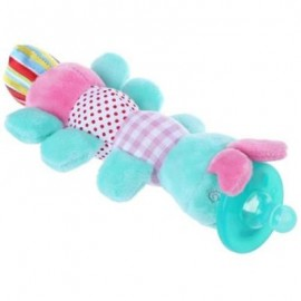 image of CUTE INFANT ANIMAL SILICONE WUBBANUB CUDDLY SOFT PLUSH TOY (PANTONE TURQUOISE) -