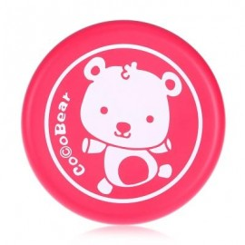 image of SOFT SAFE PU PRINTED FLYING DISC OUTDOOR SPORTS TOY FOR KIDS (RED) -