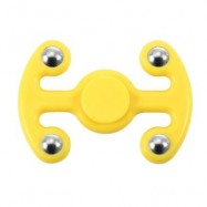 image of NOVELTY HAND SPINNING FINGER TOY FOR ADULTS AND KIDS (YELLOW) -