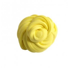 image of COLORFUL SOFT SCENTED STRESS RELIEF SLUDGE KIDS TOY CREATIVE (YELLOW) 0
