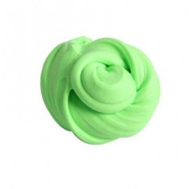 image of COLORFUL SOFT SCENTED STRESS RELIEF SLUDGE KIDS TOY CREATIVE (LIGHT GREEN) 0