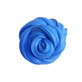 image of COLORFUL SOFT SCENTED STRESS RELIEF SLUDGE KIDS TOY CREATIVE (CERULEAN) 0