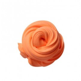 image of COLORFUL SOFT SCENTED STRESS RELIEF SLUDGE KIDS TOY CREATIVE (ORANGE) 0