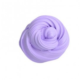 image of COLORFUL SOFT SCENTED STRESS RELIEF SLUDGE KIDS TOY CREATIVE (PURPLE) 0