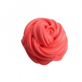 image of COLORFUL SOFT SCENTED STRESS RELIEF SLUDGE KIDS TOY CREATIVE (RED) 0