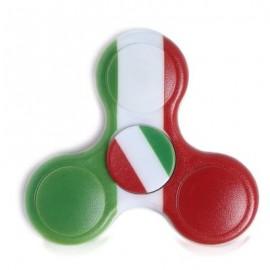 image of PLASTIC NATIONAL FLAG PATRIOTIC PATTERNED FIDGET SPINNER (GREEN) -