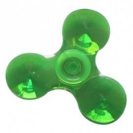 image of FIDDLE TOY EDC SPARKLE PLASTIC FIDGET SPINNER (GREEN) -
