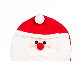 image of LOVELY CARTOON CHRISTMAS HAT GIFT DECORATION ORNAMENT SUPPLY FOR HOLIDAY PARTY (COLORMIX, SANTA CLAUS) Santa Claus
