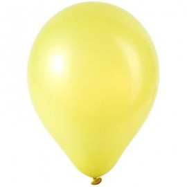 image of 100PCS LATEX BALLOONS WEDDING FESTIVAL BIRTHDAY CELEBRATION PARTY DECOR (YELLOW) -