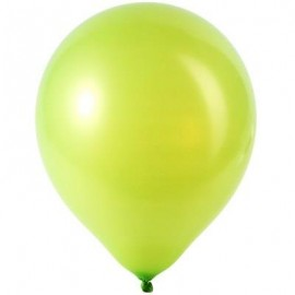 image of 100PCS LATEX BALLOONS WEDDING FESTIVAL BIRTHDAY CELEBRATION PARTY DECOR (APPLE GREEN) -