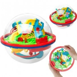 image of 3D FLYING SAUCER MAGIC MAZE LABYRINTH BALL DEVELOPMENT EDUCATIONAL TOYS FOR CHILDREN (COLORMIX) 0