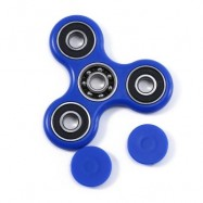 image of HAND SPINNER EDC FINGER TOY FOR ADHD AUTISM LEARNING (BLUE) 7.50 x 7.50 x 1.00 cm