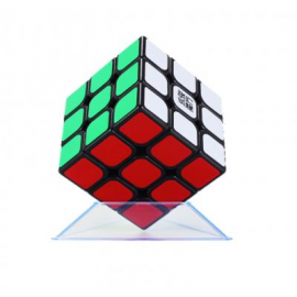 image of YJ SPEED DRAGON PROFESSIONAL RUBIK CUBE SMOOTH PUZZLE 3X3 -BLACK